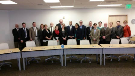 Assistant Secretary Jay Williams visits with IMCP designee Puget Sound Regional Council