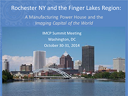 Rochester NY and the Finger Lakes Region: A Manufacturing Power House and the Imaging Capital of the World