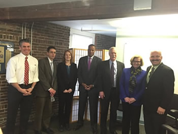 Assistant Secretary Williams joins U.S. Senator Angus King and U.S. Representative Chellie Pingree to spotlight Maine's two 2015 RIS recipients: The Maine Center for Entrepreneurial Development and Coastal Enterprises Inc.