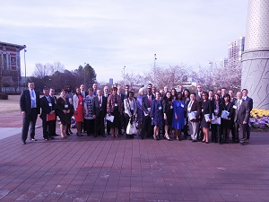 Participants from the Americas Competitiveness Exchange Trip in Atlanta, GA