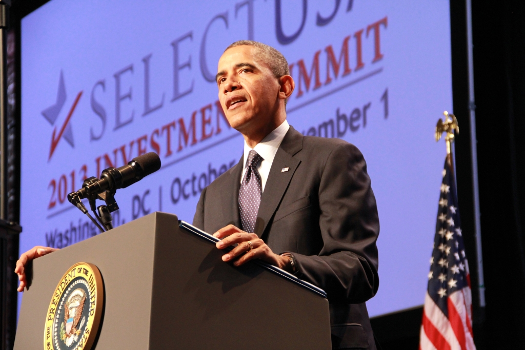 President Obama Addresses the 2014 SelectUSA Investment Summit