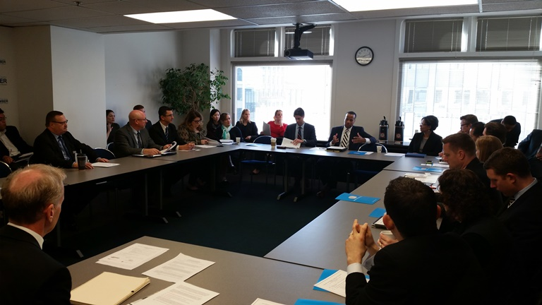 Trade Roundtable in Tacoma, Washington