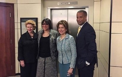 Assistant Secretary Williams visits Flint, Michigan with Senator Debbie Stabenow and SBA Administrator Maria Contreras-Sweet