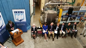 Deputy Assistant Secretary Matt Erskine announces $4.2 million investment and EDAT to Maine at the University of Maine.
