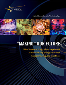 NGA Manufacturing Report Cover - 'Making' Our Future