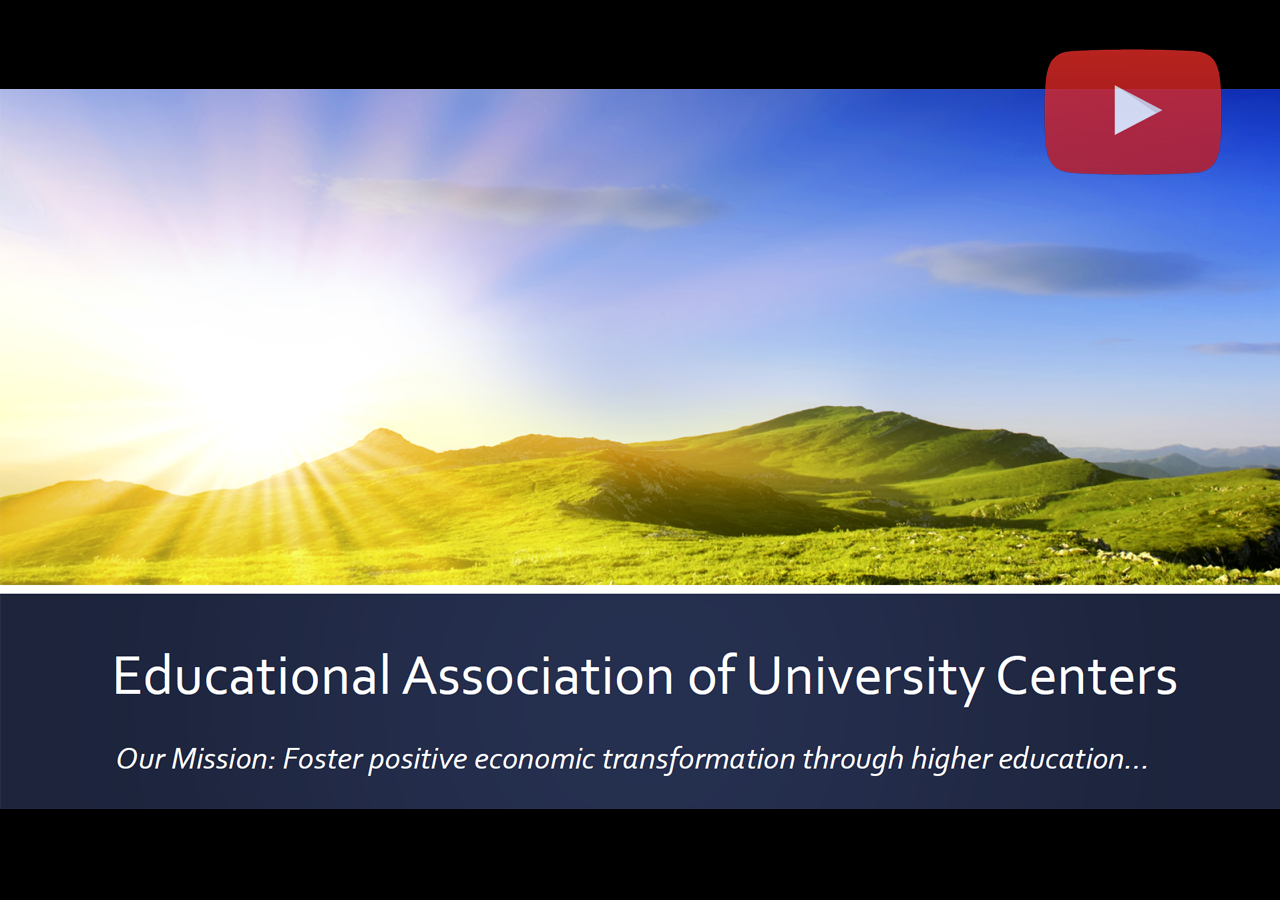 Educational Association of University Centers Webinar