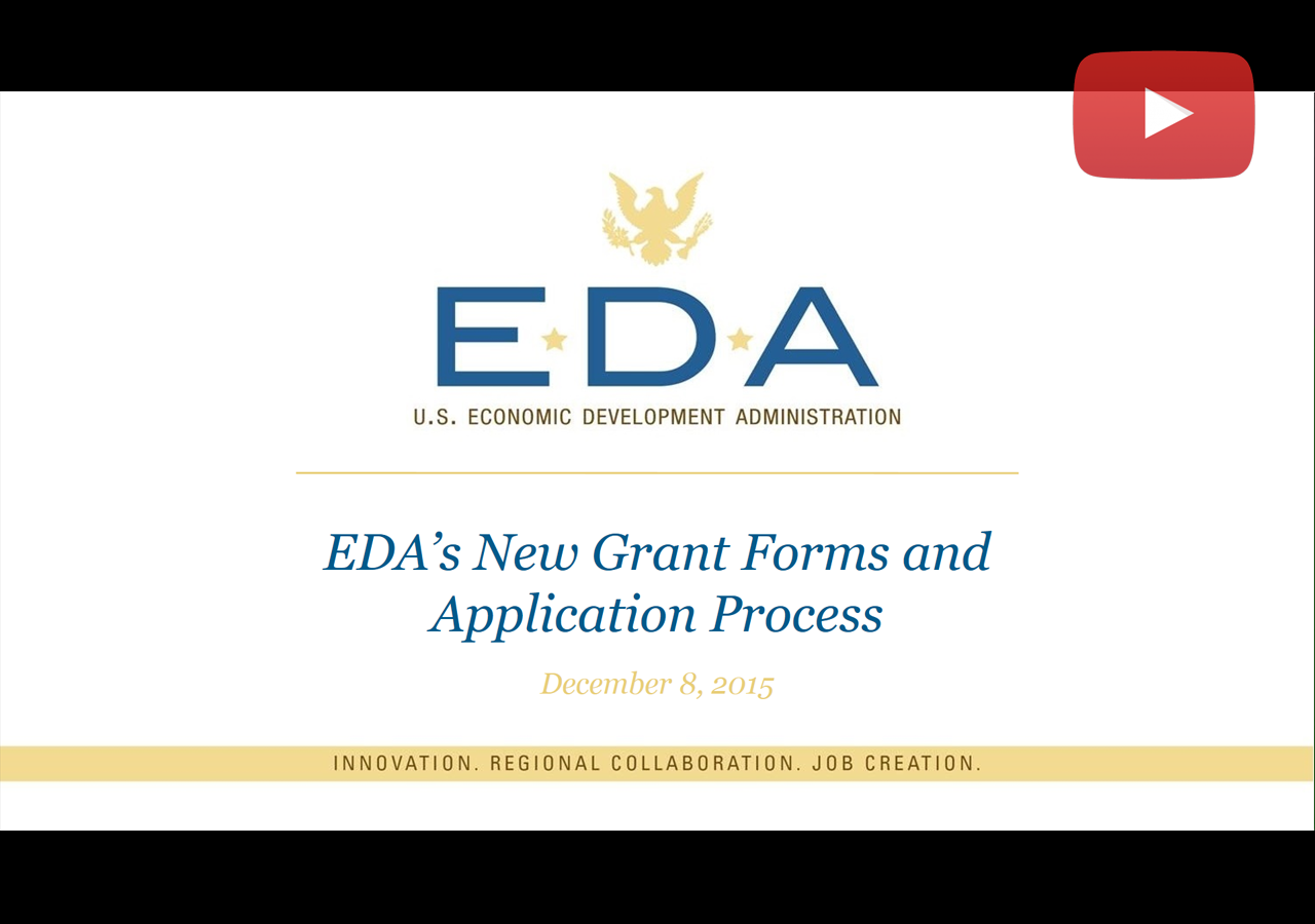 EDA RLF Proposed Changes Webinar image