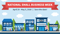 2018 National Small Business Week logo
